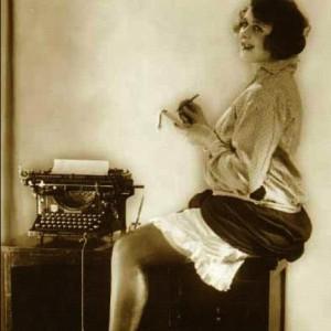 woman typist
